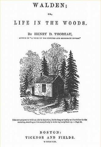 Life in the Woods by Henry David Thoreau is published