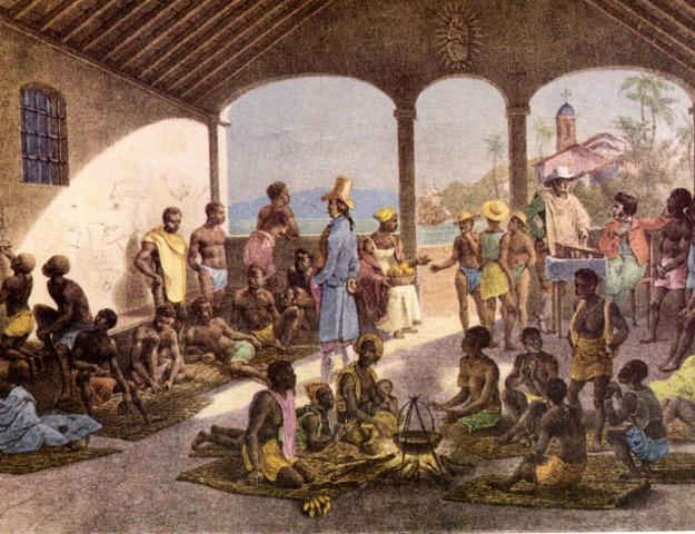 Establishment of slave ports