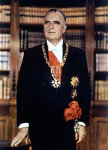 Georges Pompidou est nommé Premier ministre