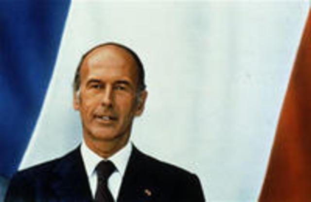 Victoire de Valéry Giscard d'Estaing aux élections présidentielles