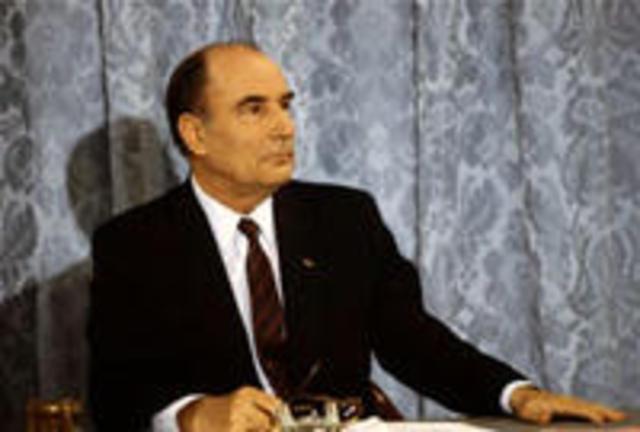 François Mitterrand est élu Président de la République