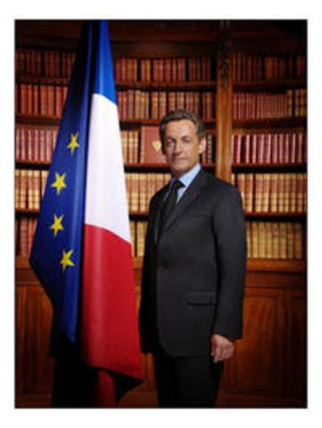 Nicolas Sarkozy est élu