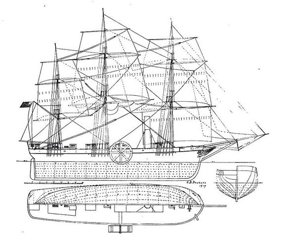 Transatlantic Ship