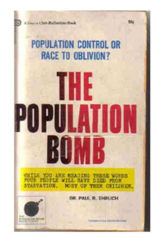The Population Bomb is published