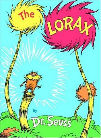 The Lorax by Dr. Seuss is published