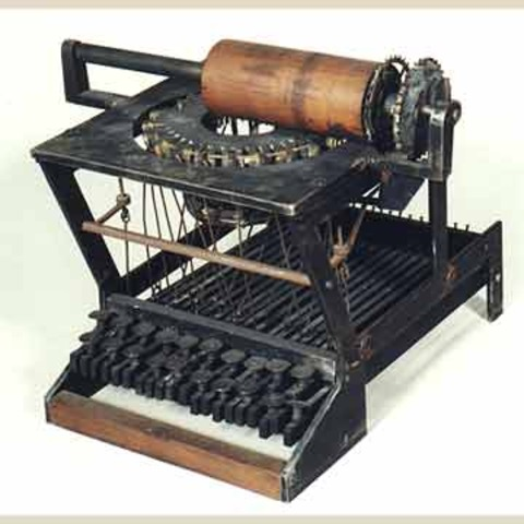 Mass Produced Typewritter