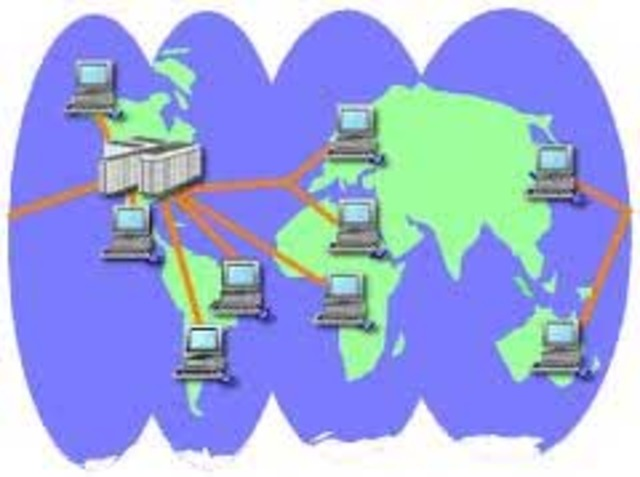 """First """"wide area network"""" created"""
