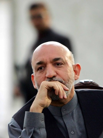 Hamid Karzai appointed interim leader of Afghanistan