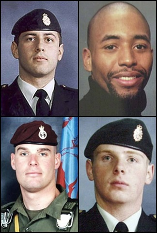 First Canadian casualties in Afghanistan