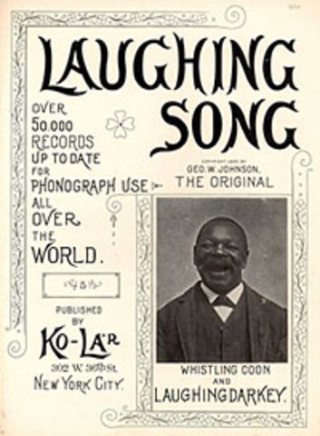 George Washington Johnson records on tinfoil disks