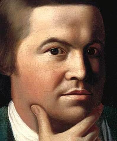 Paul Revere born