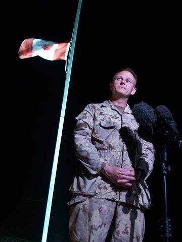 Fraser takes over in Kandahar
