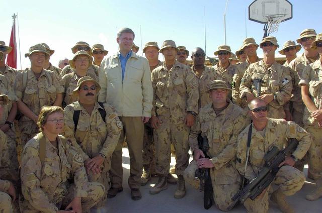 Harper travels to Kandahar