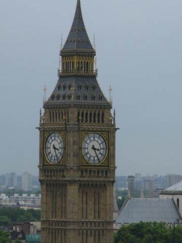 I went to England
