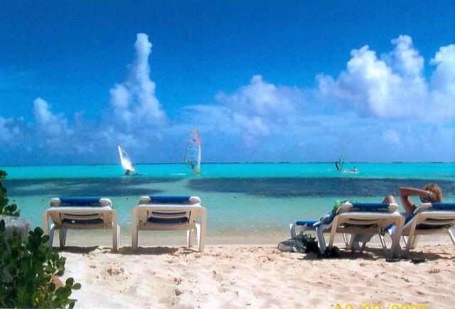 We went to Bonaire
