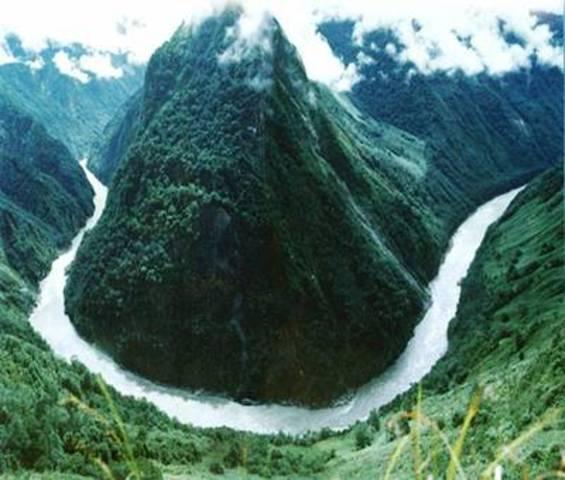 The River Brahmaputra