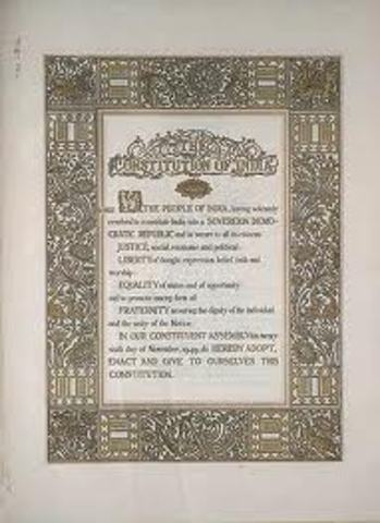 New Indian Constitution