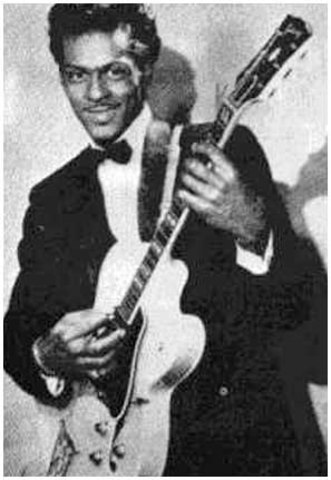 Chuck Berry helped shape rock and roll