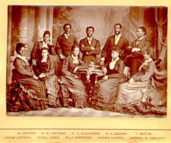 Negro Spirituals becomes a profession