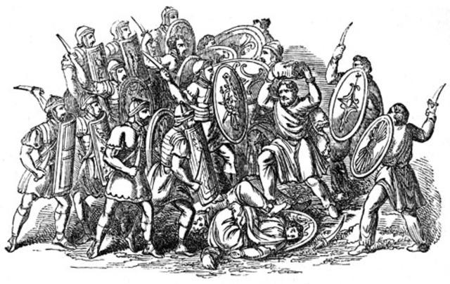 Visgoths Sack Rome