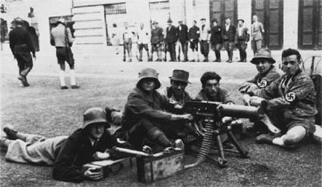 25 July, 1934,  Juli -Putsch
