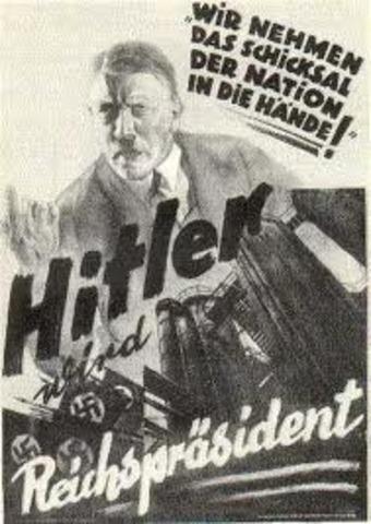 Hitlers Presidential Vote