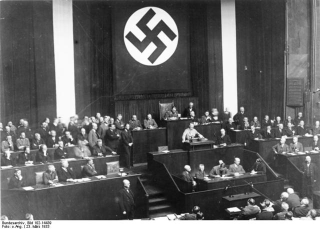 Passage of the Enabling Law in Germany