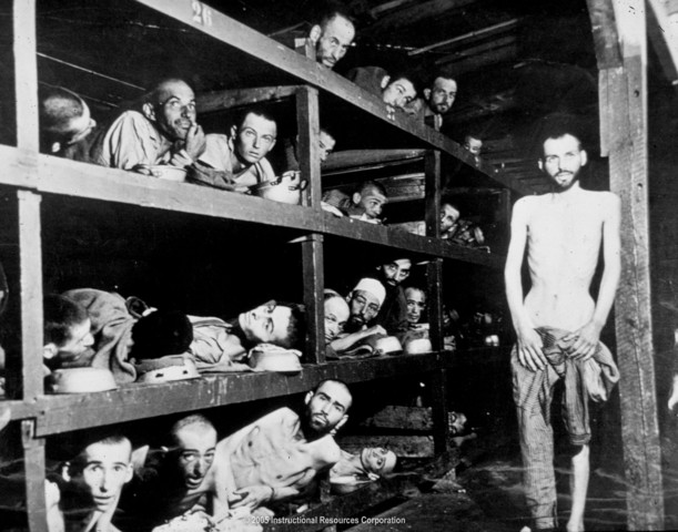 Nazis open several concentration camps