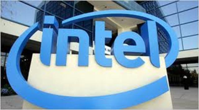 Intel Corporation creates the microprocessor