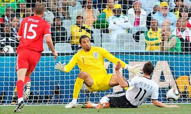 Germany embarass England