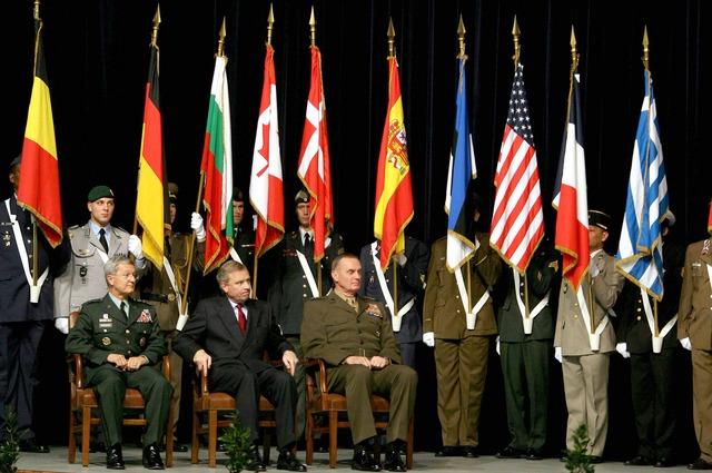 NATO assumes command