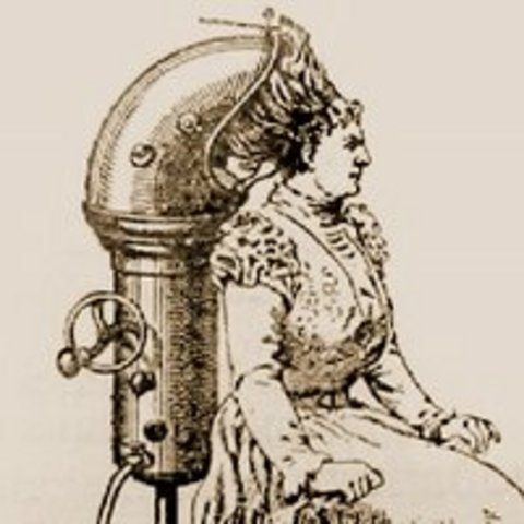 The First Hair Dryer