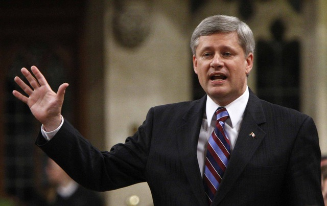 Harper pinpoints end to mission