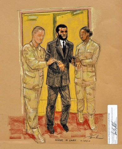 Khadr sentenced
