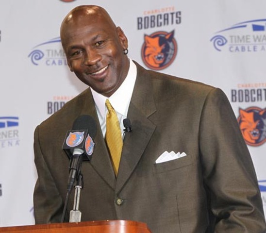 Micheal Jordan is now the owner of Charlotte Bobcats. He is the first NBA player to own an NBA team.