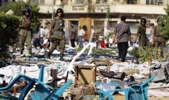 Troops Retake Tahrir Square