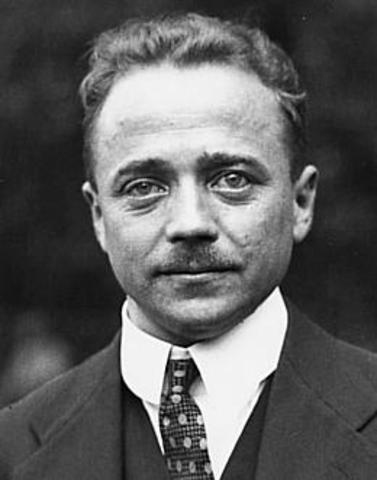 Austrian Chancellor Engelbert Dollfuss - protects Austria being in a Austrofascist dictatorship
