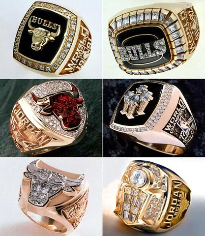 Michael Jordan has only won 6 championships with the Bulls. He has 6 rings in total with the Bulls.