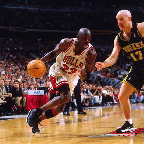 Michael Jordan returns to the NBA and plays his first game against the Indiana Pacers.