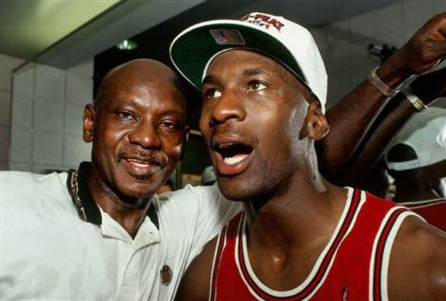 Michael Jordan father died. He retired from basketball and went on to playing baseball.