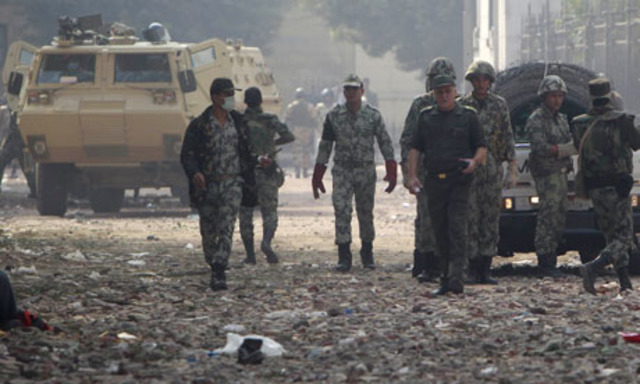 US condemns Egypt's military rulers amid exasperation among protesters