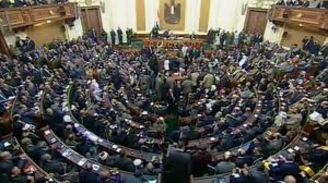People's Assembly met for the first time since Egypt's revolution
