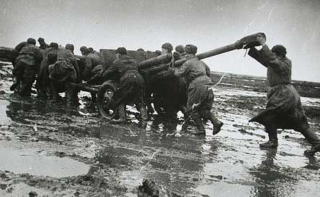 Soviets begin an offensive against the Germans in Stalingrad.