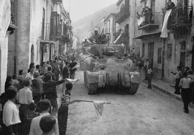 Americans capture Palermo, Sicily.
