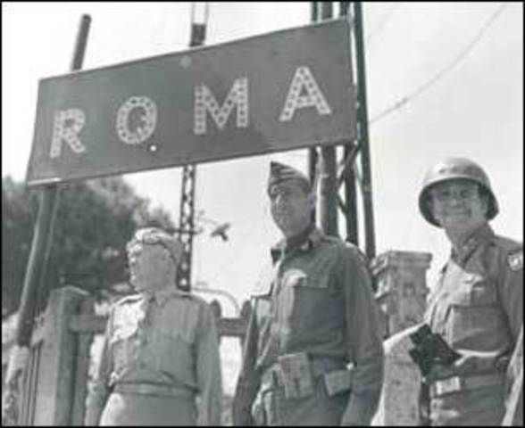 Germans occupy Rome
