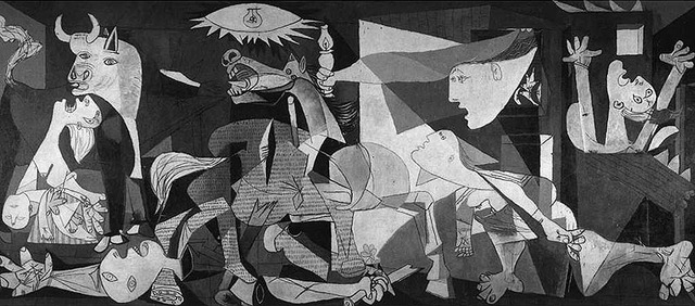 Bombing of Guernica (Natalie)