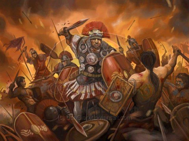 Romans conquer palastine