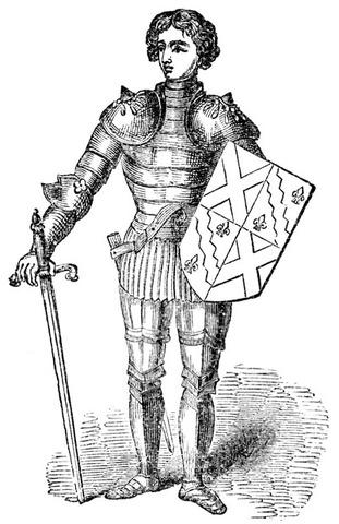 Charlemagne made King of Franks