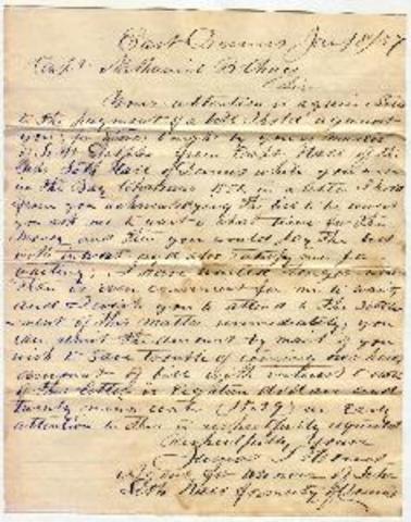 Howe's Letter