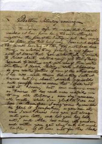 Clinton's Letter